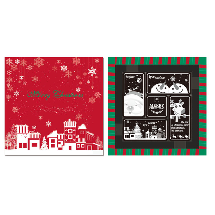圣诞主题浮雕巧克力,圣诞限定零嘴杂货铺,这个月霸占你的胃