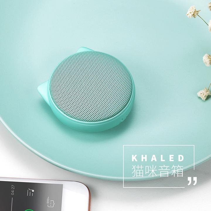 JS几素J5猫咪手机蓝牙音箱无线迷你音响便携户外创意可爱礼品