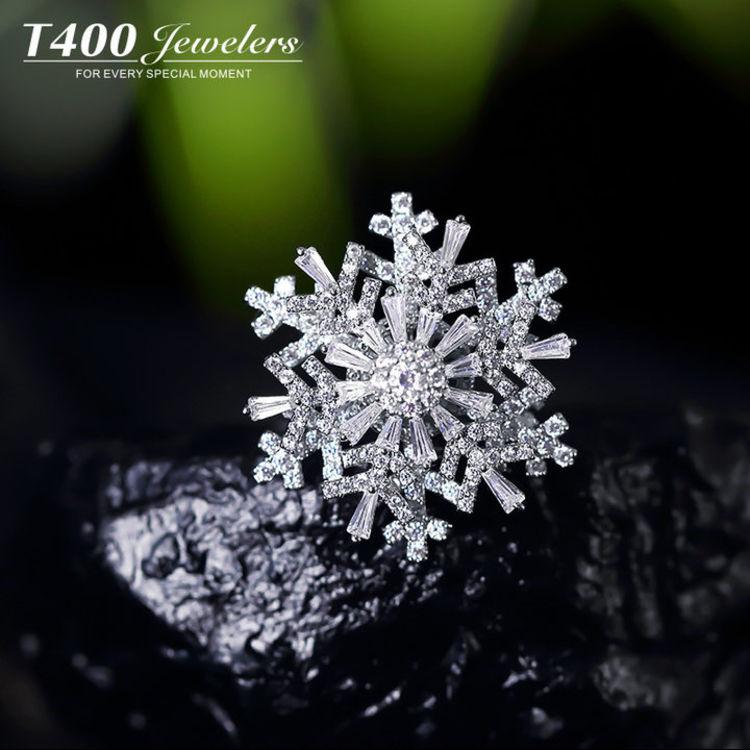双层雪花旋转胸针,圣诞首饰①:漂亮的人都开始准备过圣诞节了!