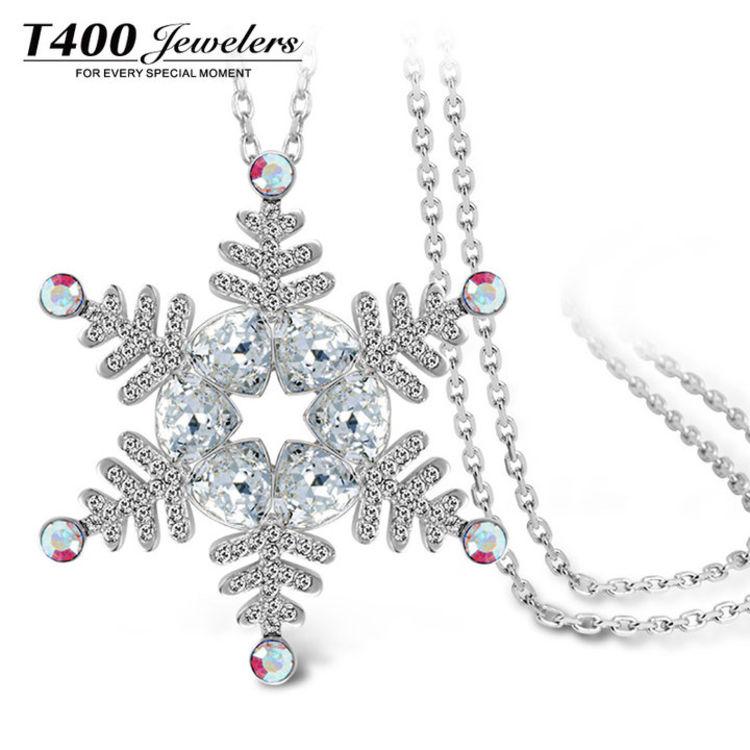 施华洛世奇元素水晶,圣诞首饰①:漂亮的人都开始准备过圣诞节了!