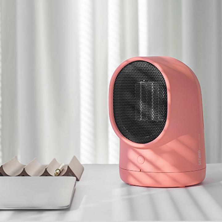 Warmbaby呆呆暖风机取暖器办公室家用节能桌面迷你电暖气小太阳