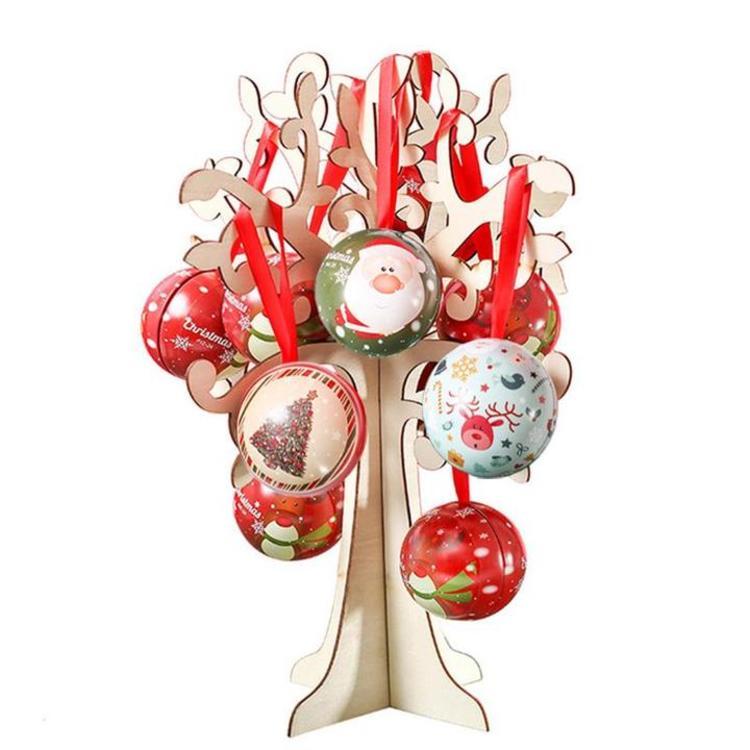 礼盒含4款球每款2颗,关于味蕾的圣诞限定,这些一定要吃!