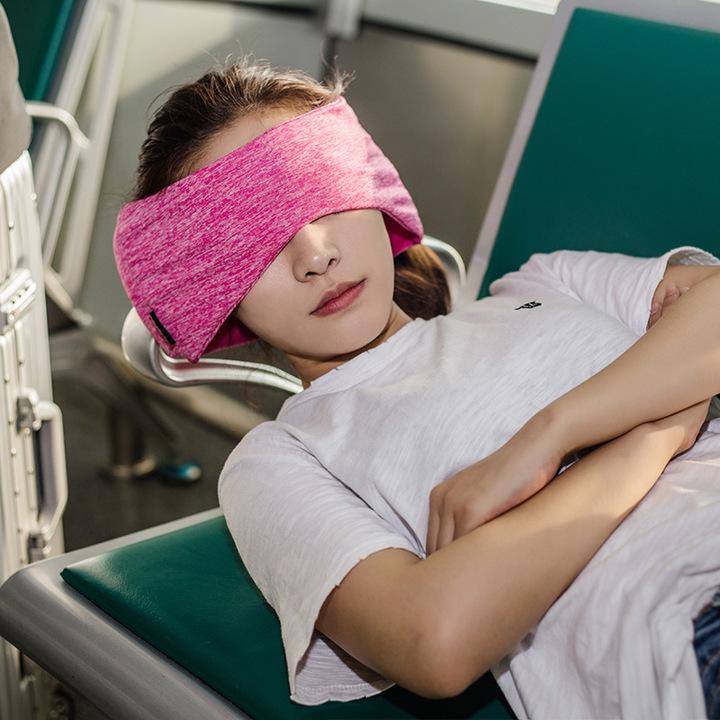 旅行眼罩枕 ROLLPARK午睡靠枕睡眠头套 多功能遮光汽车飞机头枕