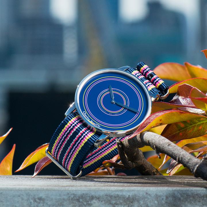 英国charles bowtie查尔斯领结CBT手表时尚潮流多彩色石英表薄款-韦斯特伯里