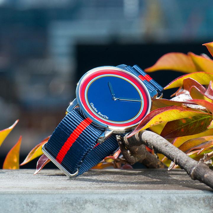 英国charles bowtie查尔斯领结CBT手表时尚潮流多彩色石英表薄款-KENLEY肯丽