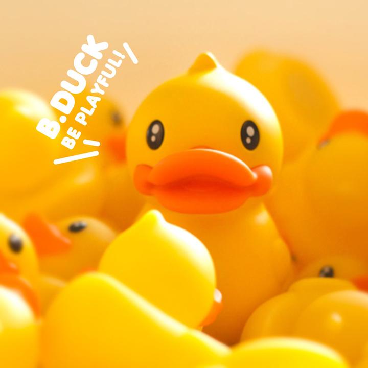 香港潮牌 B.Duck小黄鸭 移动电源无线创意便携轻巧车载可爱充电宝