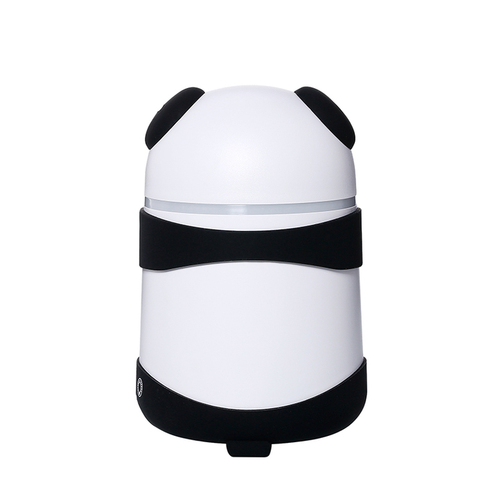 可爱熊猫香薰机加湿器
