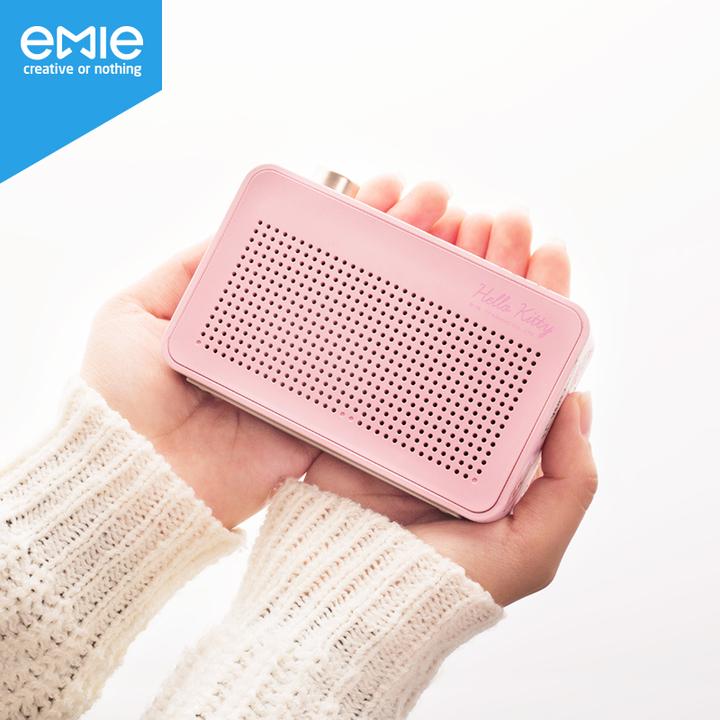 emie亿觅Kitty电波无线蓝牙音箱迷你文艺音响便携小低音炮创意