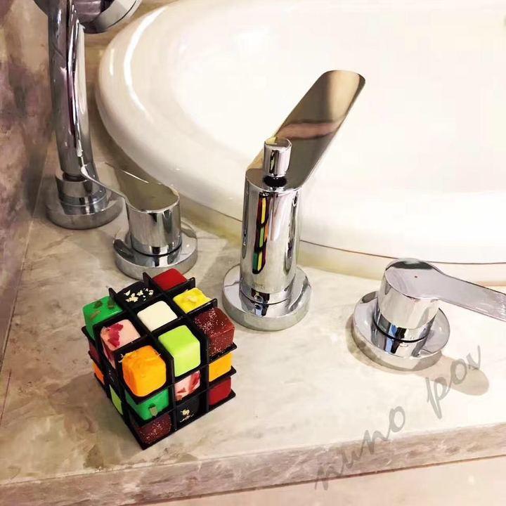 英国POV沐浴魔方香皂纯天然手工皂27粒泡泡浴精油皂 七夕情人礼物