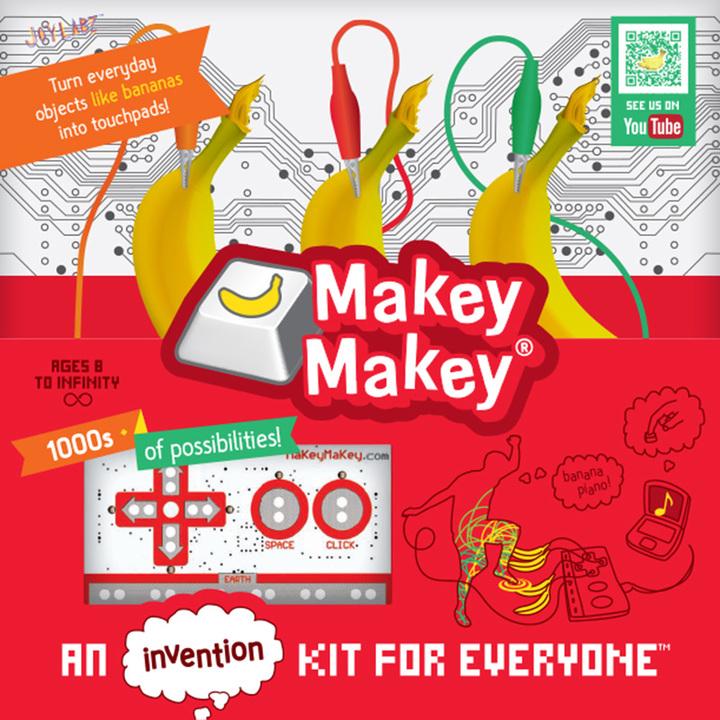 美国MakeyMakey创意键盘  创意酷玩礼品