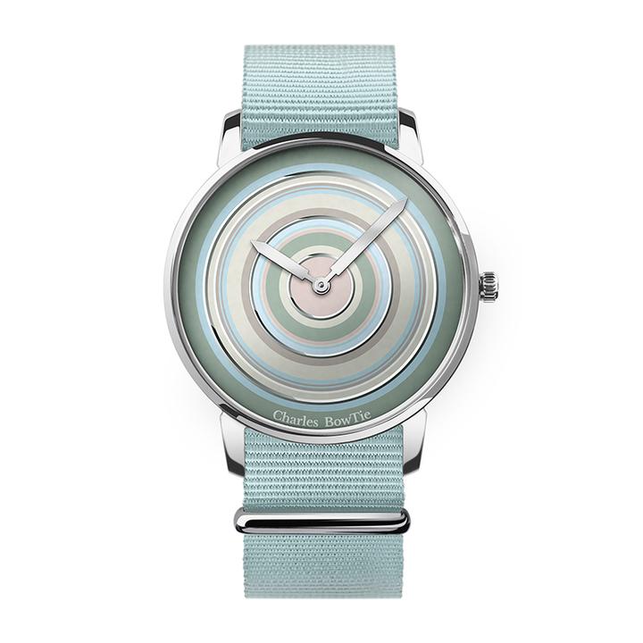 英国charles bowtie查尔斯领结CBT手表时尚潮流多色彩石英表薄款
