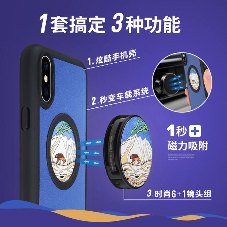 手机镜头套装,iPhoneX 配上这堆镜头套装手机壳,旅行不用带单反了~