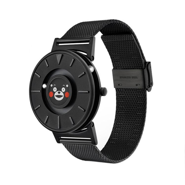 恒圆EONE 创意磁力触感手表 酷MA萌卡通熊本手表 男女时尚腕表
