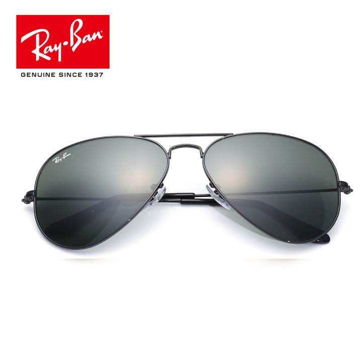 RayBan雷朋太阳眼镜男女款蛤蟆镜复古优雅简约潮流0RB3025墨镜