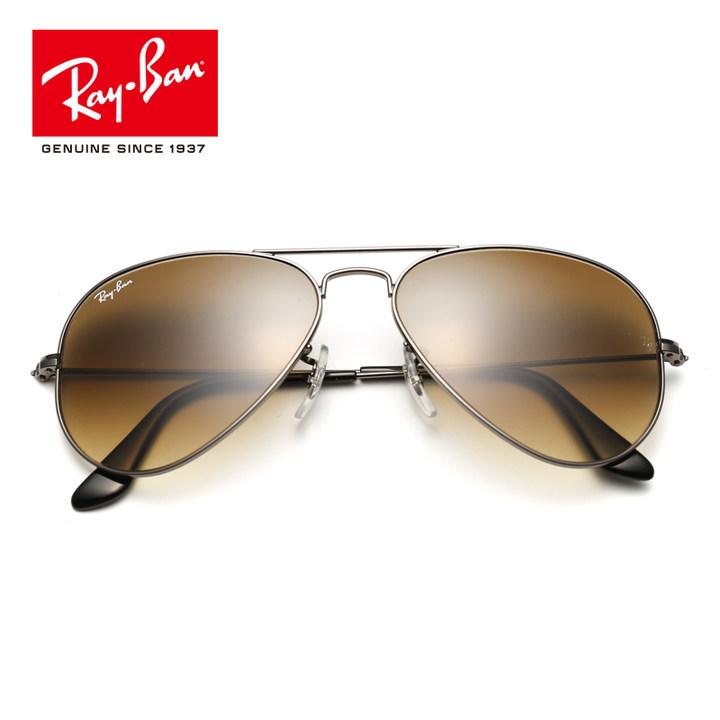 RayBan雷朋太阳眼镜男女款蛤蟆镜个性简约优雅渐变色0RB3025