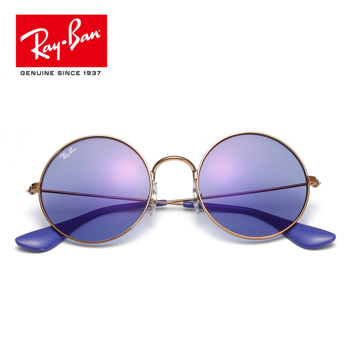 RayBan雷朋新品太阳眼镜女款骄娇款圆形镜框个性优雅前卫0RB3592