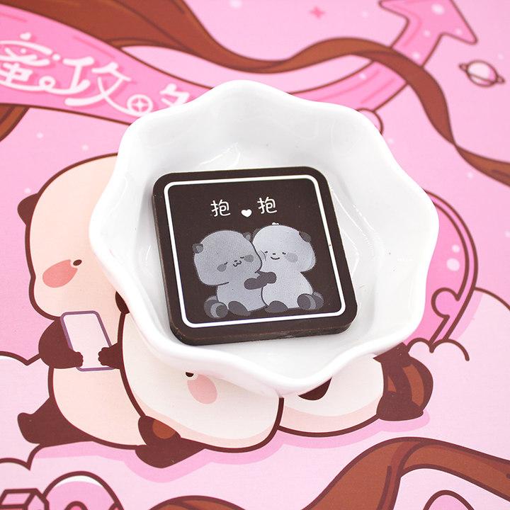 morethanX萌二正版520礼物送女友男友黑巧克力创意纯可可情人节