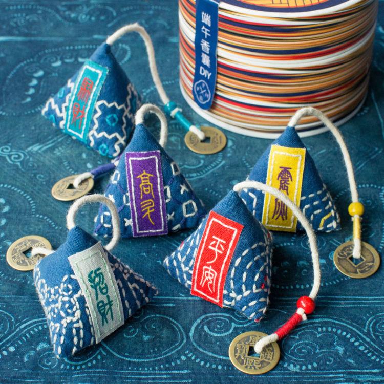 纯手工·刺绣·材料包,有这些颜值爆表的礼盒,送礼就够了!