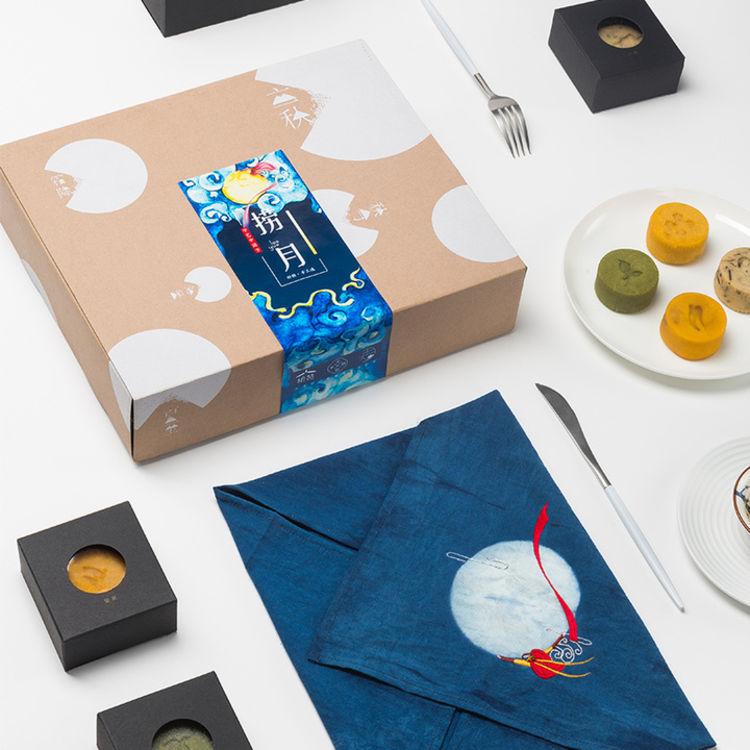 纯手工·刺绣·中秋,有这些颜值爆表的礼盒,送礼就够了!
