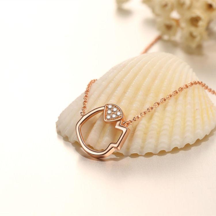 情人节礼物 生肖项链,新年,送自己一个美丽的开始