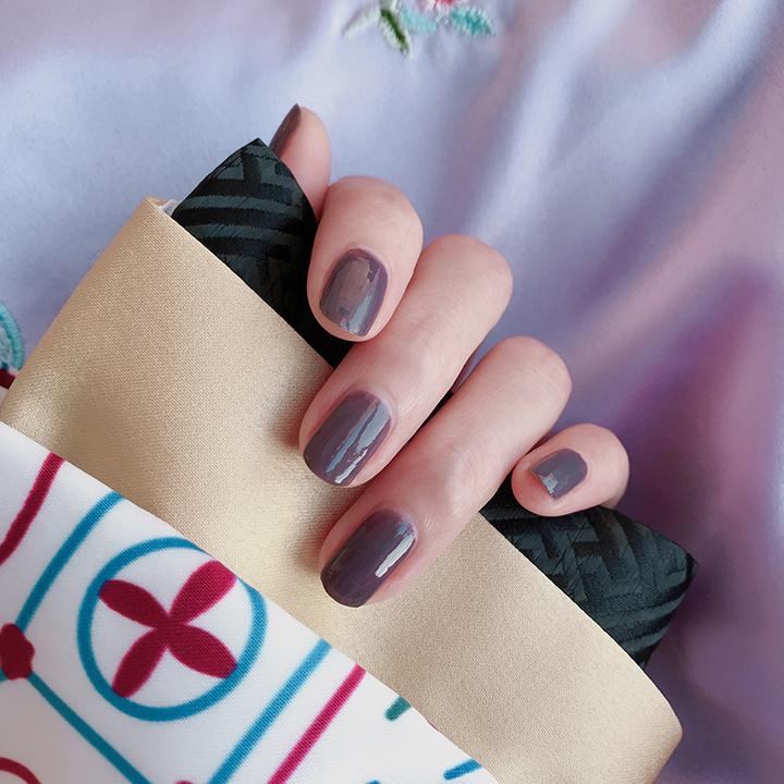 罗兰紫-延禧攻略&啊啾联合出品 国风指甲油 可剥女无毒撕拉持久