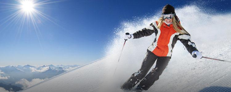 冬天除了宅在家,我们还要去滑雪
