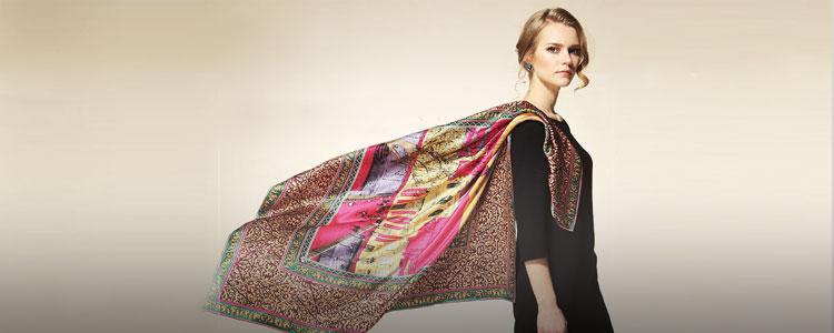 女人节,送妈妈一条女人味的丝巾