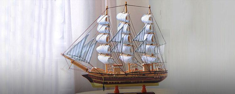 帆船摆件,祝ta考学一帆风顺!