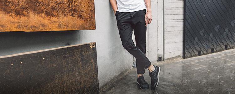 欧巴,穿这样的裤子才帅呀~