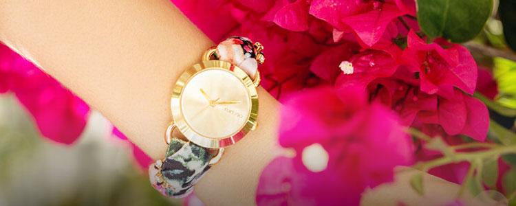 细带手表,送她手腕上的时装~