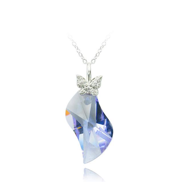 巴黎月光水晶项链