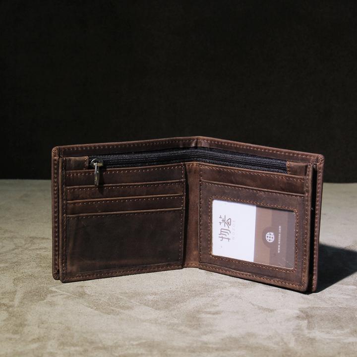 拉链横款钱包