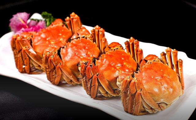 金秋佳节,满世界都是好吃的大闸蟹!