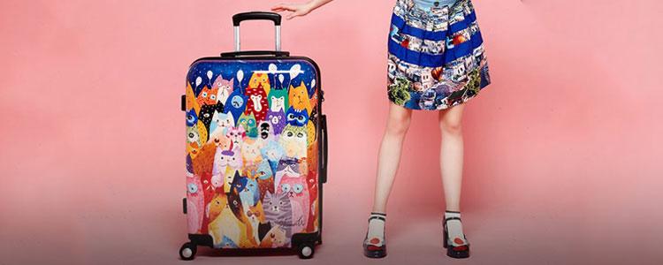 开学大换新,行李箱帮你赢得学长心