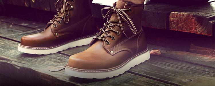 你与型男之间,就差一双马丁靴