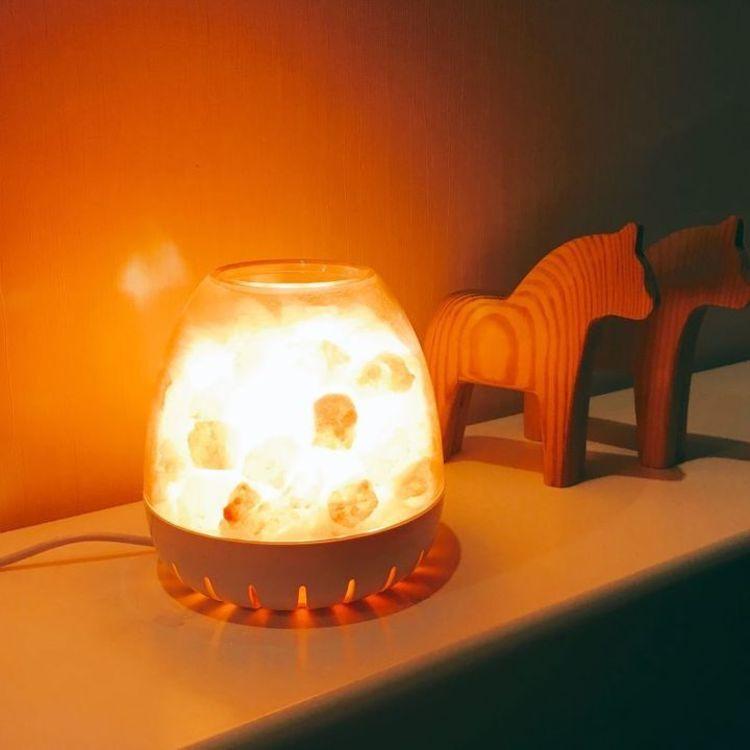 创意告白,负离子水晶盐灯|来自大自然的小惊喜