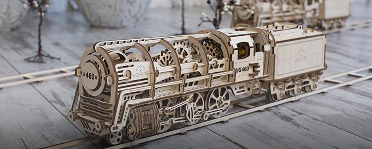 UGEARS——让大人着迷的最酷玩具