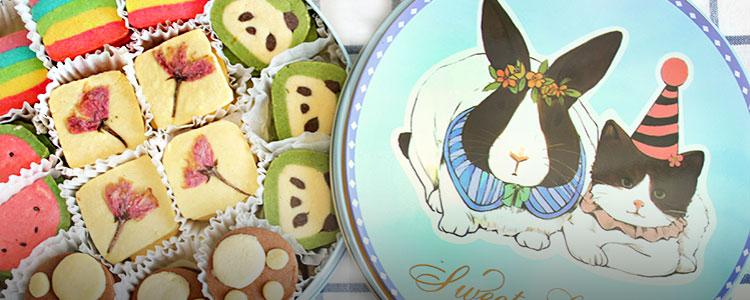 孕妈妈都爱吃的奶香曲奇礼盒,满满都是爱