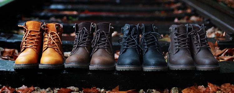 纯爷们标配!帅酷保暖工装靴