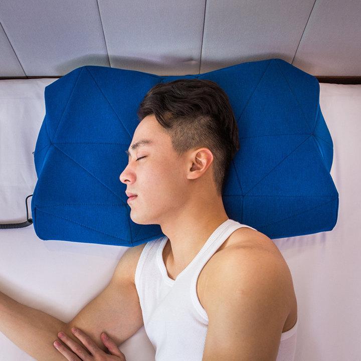 pilo创意护颈助眠会唱歌的枕头