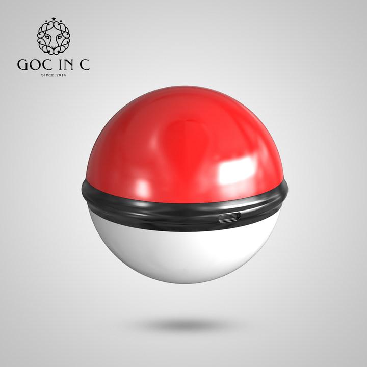 GOC IN C 能量球暖手宝USB充电潮牌电暖宝安全防爆随身带