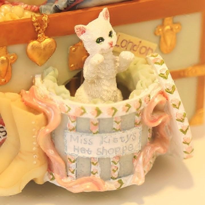 猫咪百宝箱音乐八音盒