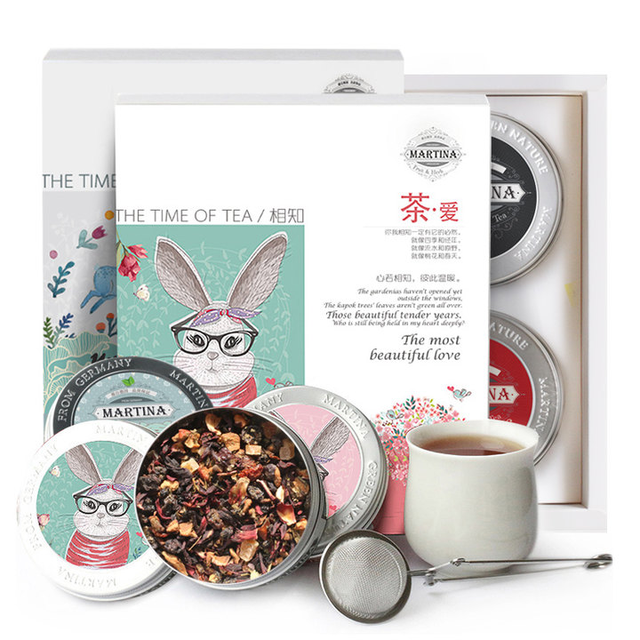 德国MARTINA花果茶组合礼盒