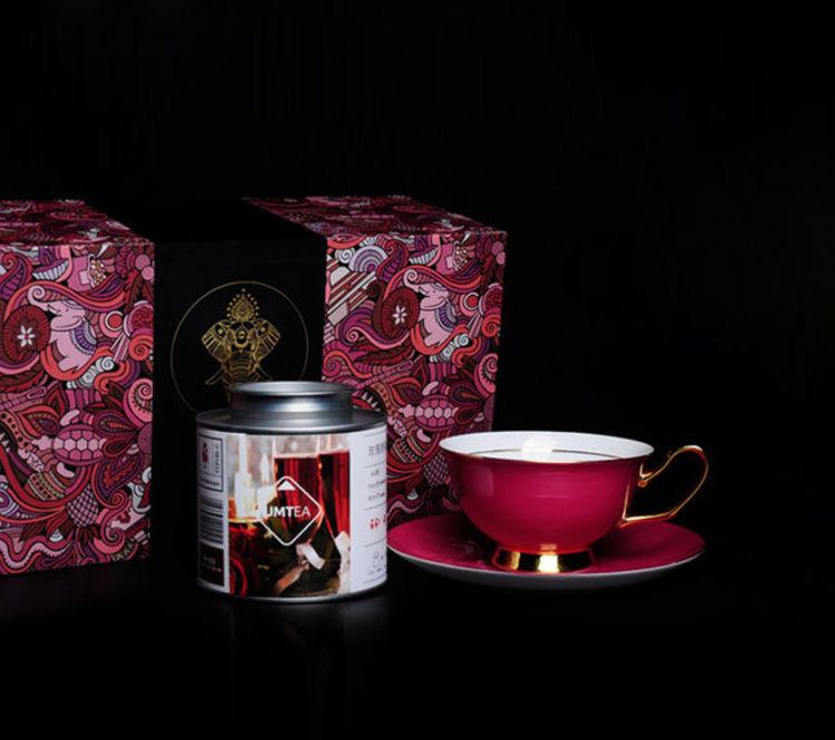 """含红茶杯和杯托一套,养颜消肿抗氧化,春夏必饮的""""王子茶"""""""