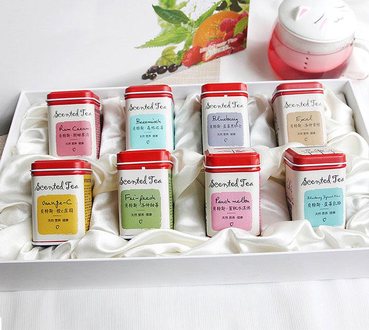 德国花果茶8种口味礼盒