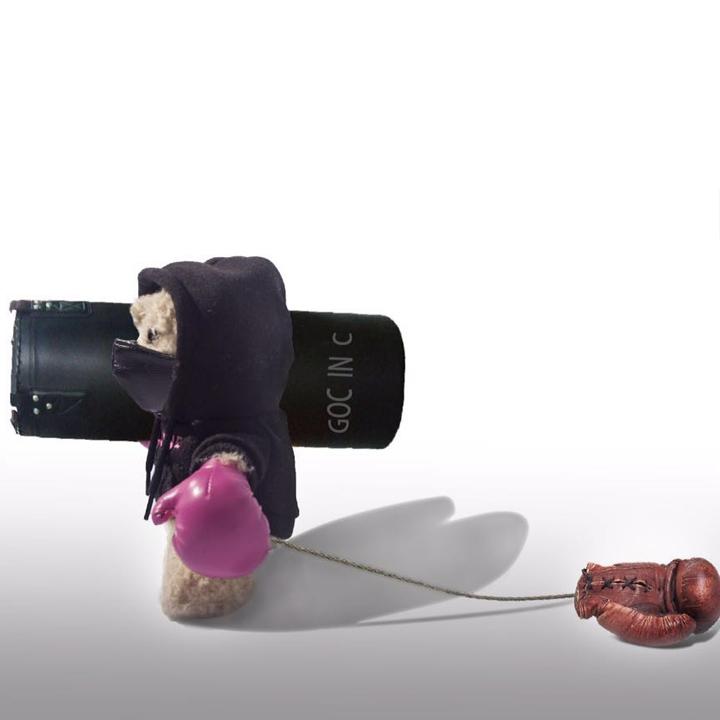 GOC IN C充电宝 拳击熊移动电源 8000毫安