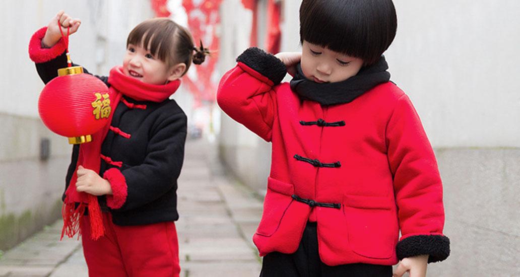萌娃穿上中国风,可爱无敌讨人喜