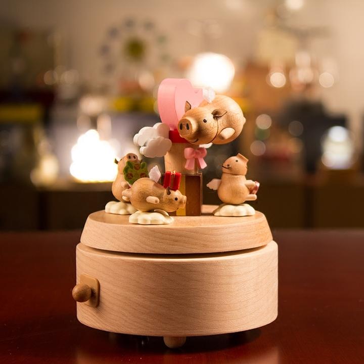 jeancard飞天小猪音乐盒