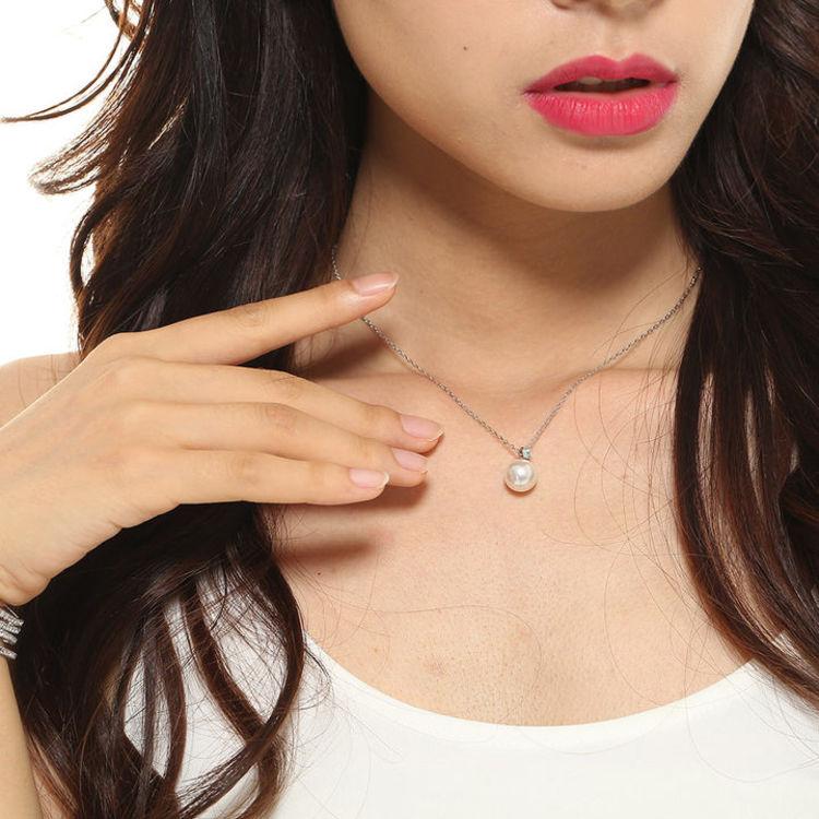施华洛世奇珍珠项链,女票说,这个情人节只喜欢你送她珍珠