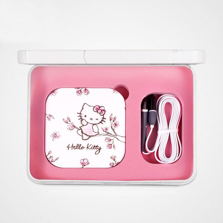 HelloKitty化妆镜充电宝